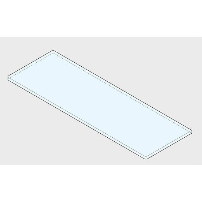 P&S プレートサポート ガラス用棚受 強化ガラス棚板セット 3072型+GSH150型 3072VA2-600-SET
