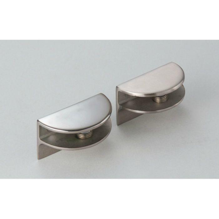 P&S プレートサポート ガラス用棚受 強化ガラス棚板セット 3073型+GSH150型 3073VA2-450-SET