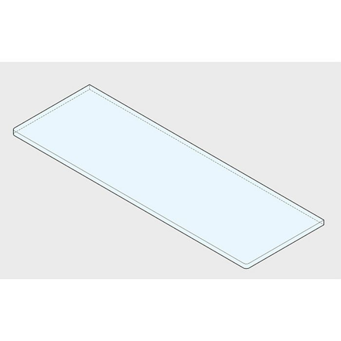 P&S プレートサポート ガラス用棚受 2885型 強化ガラス棚板セット 2885型+GSH150型 2885VA1-300-SET