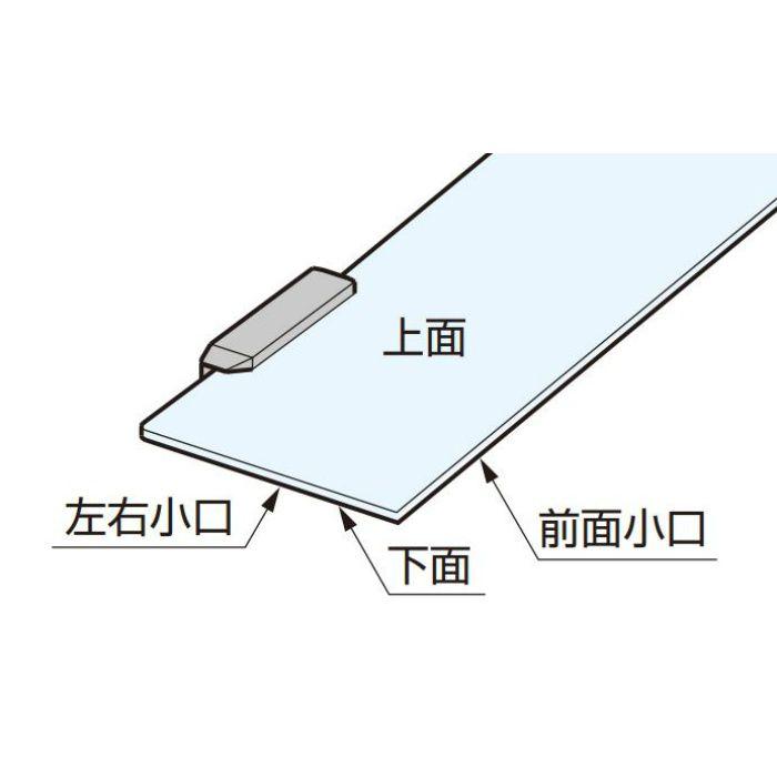 ランプ印 ガラスクランプ棚金物 XL-US01-S200L LED仕様 XL-US01-S200L-C