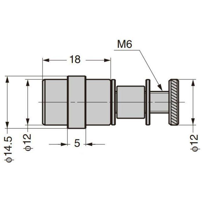 P&S プレートサポート ガラス用棚受 2889MS5 2889MS5