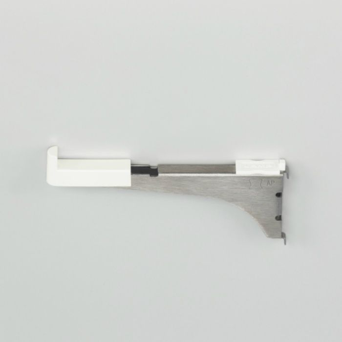ランプ印 棚柱用ブラケット AP-FB120 アルミ製棚柱 AP-DM型用 AP-FB120