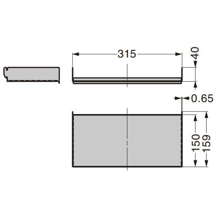 小棚ユニット 11401-00000 エレメントシステム 11401-00000