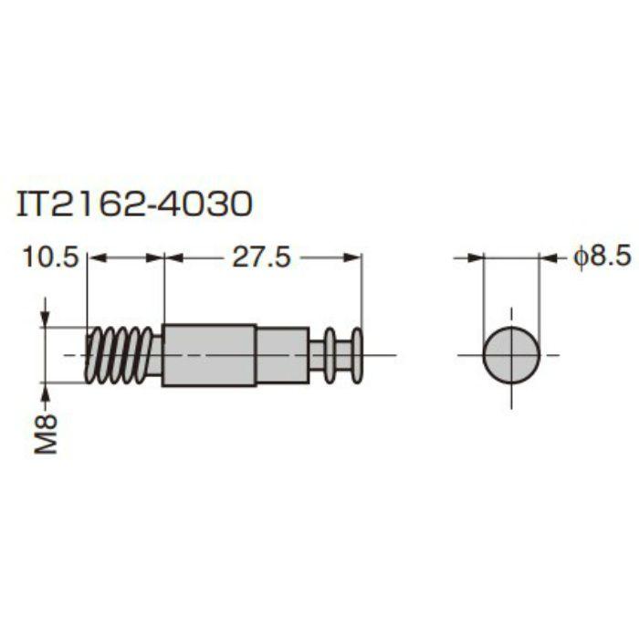 ITALIANA 締結金具 IT2162型 シャフト IT2162-4030