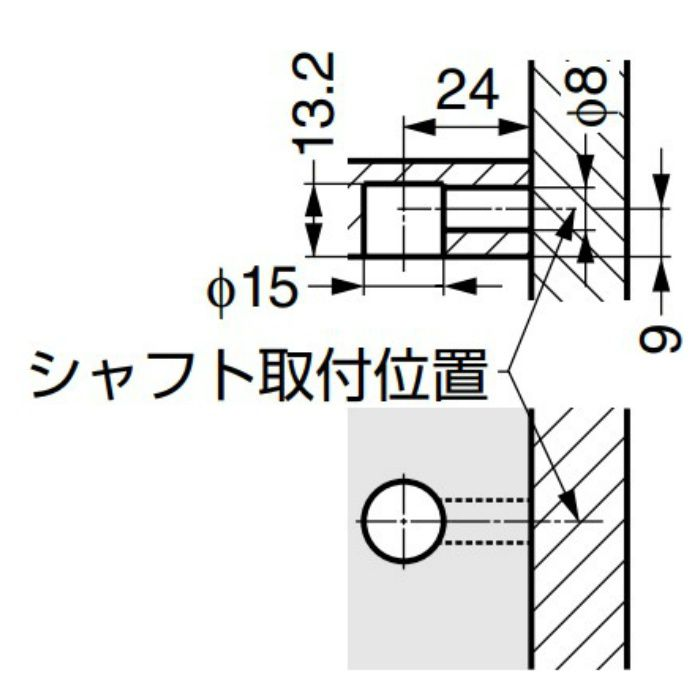 15タイプ 締付ミニ円盤 3161018 3161018