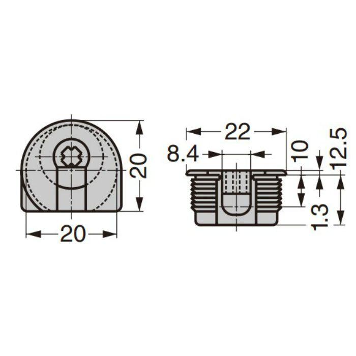 20タイプ ケース入り締付ミニ円盤 3204116 3204116