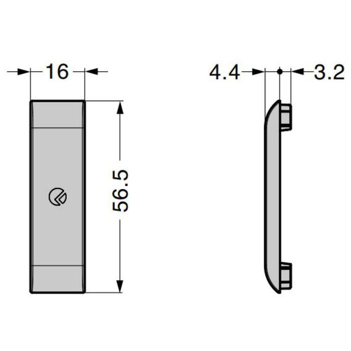 ITALIANA キャップ IT6346-6010 IT6342シリーズ長円穴用 IT6346-6010