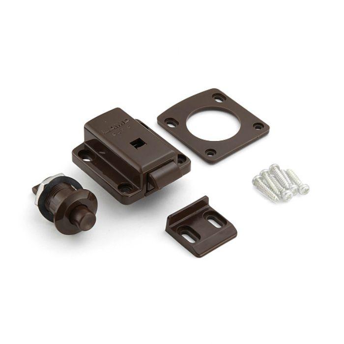 ランプ印 セーフラッチ SL-B211型 安全金具シリーズ ブラウン SL-B211-BR