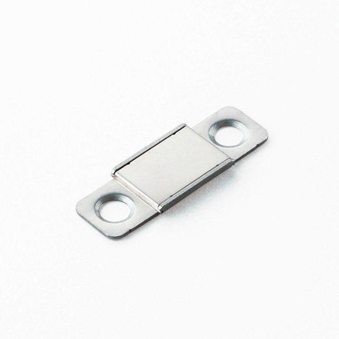 ランプ印 ステンレス鋼製 極薄型耐熱マグネットキャッチ MC-YN016HP型 MC-YN016HP-15