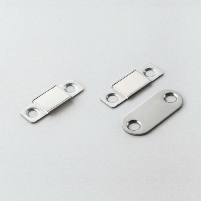 ランプ印 ステンレス鋼製 極薄型耐熱マグネットキャッチ MC-YN016HP型 MC-YN016HPP-27