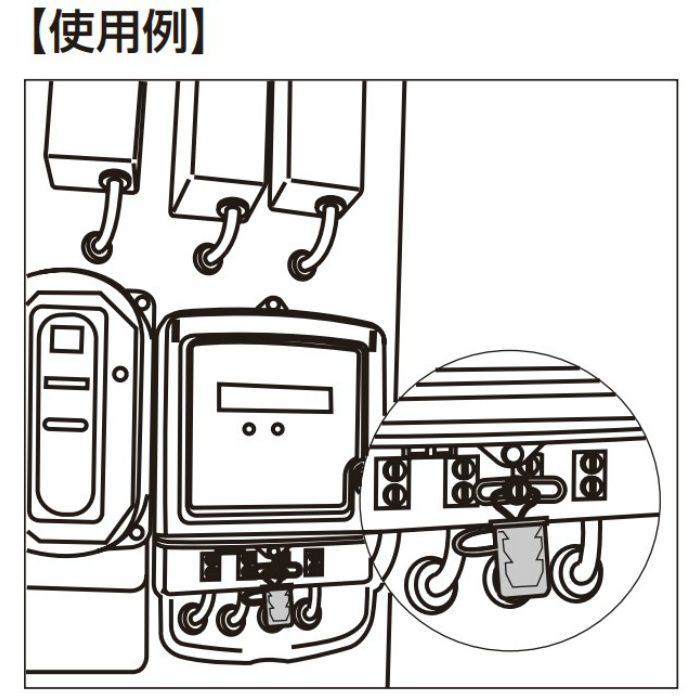 封印具 CK-15 標準タイプ 100ヶ CK-15