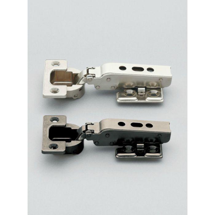 ランプ印 重量用ワンタッチスライド丁番 J95 95°開き 25mmかぶせ J95-C24/25T