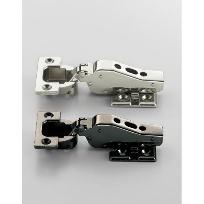 ランプ印 重量用ワンタッチスライド丁番 J95 95°開き 16mmかぶせ J95-24/16T