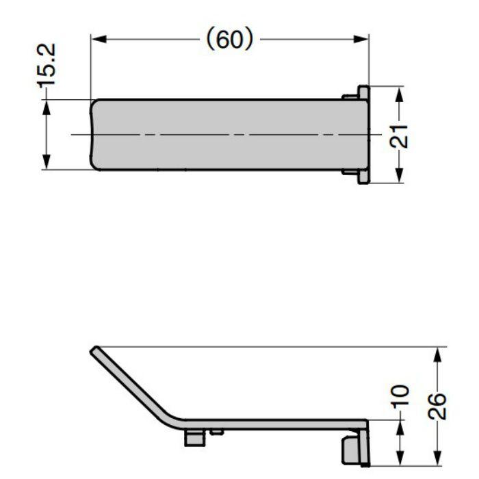 ランプ印 本体カバー J95SC-0型 重量用ワンタッチスライド丁番 J95シリーズ インセット用 J95SC-0GR