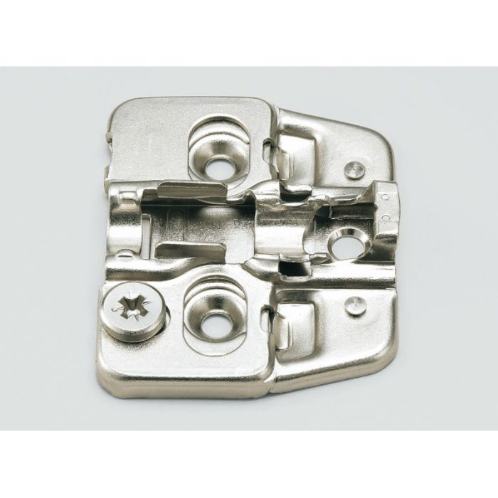 ランプ印 マウンティングプレート 150-P4W-30TH+2 151シリーズ システム30・3つ穴、2mm厚 150-P4W-30TH+2