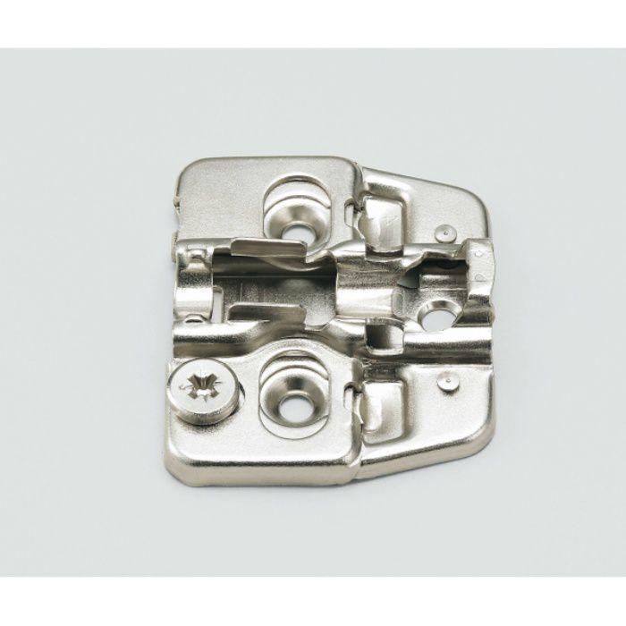 ランプ印 マウンティングプレート150-P4W-30TH+4 151シリーズ システム30・3つ穴、4mm厚 150-P4W-30TH+4