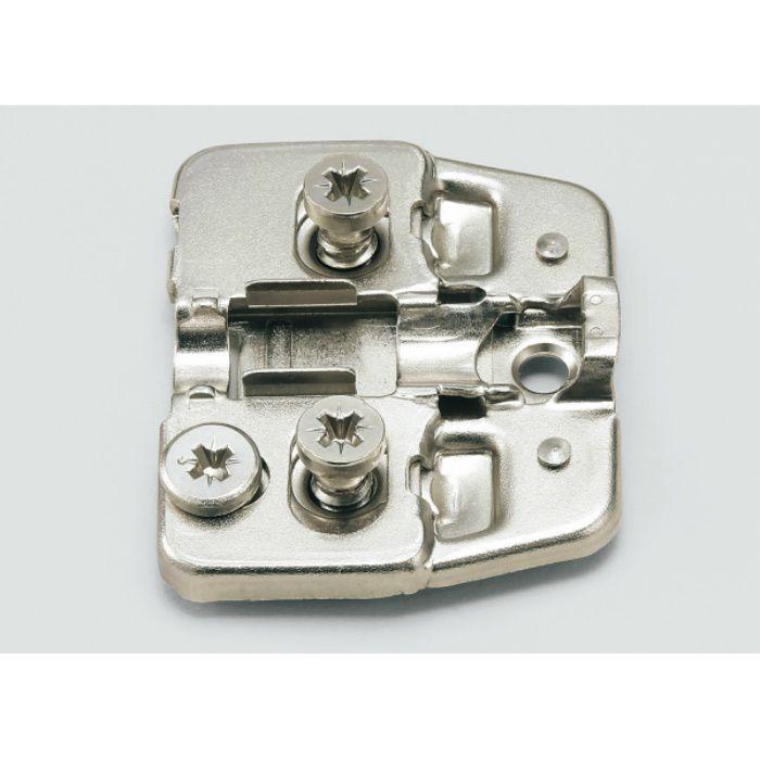 ランプ印 マウンティングプレート 150-P4W-30TH DS6.4×12 151シリーズ  システム30・3つ穴、0mm厚 150-P4W-30TH DS6.4×12