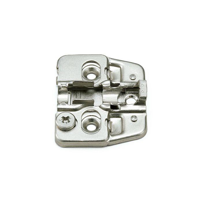 ランプ印 マウンティングプレート 150-P4W-32TH+2 151シリーズ システム32・3つ穴、2mm厚 150-P4W-32TH+2