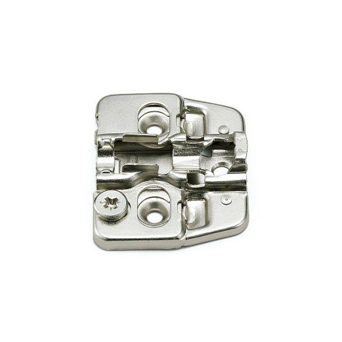 ランプ印 マウンティングプレート 150-P4W-32TH+4 151シリーズ システム32・3つ穴、4mm厚 150-P4W-32TH+4