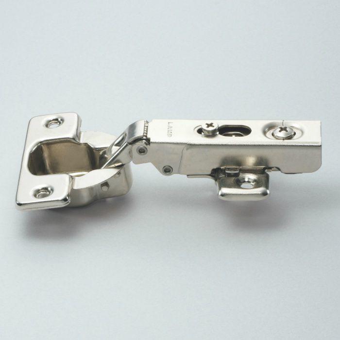 ランプ印 ワンタッチスライド丁番 厚扉用 H230 100°開き 26mmかぶせ H230-C26/26T