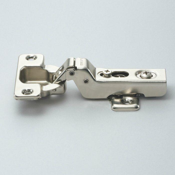 ランプ印 ワンタッチスライド丁番 プッシュオープンタイプ 230 105°開き 9mmかぶせ 230-U26/9T