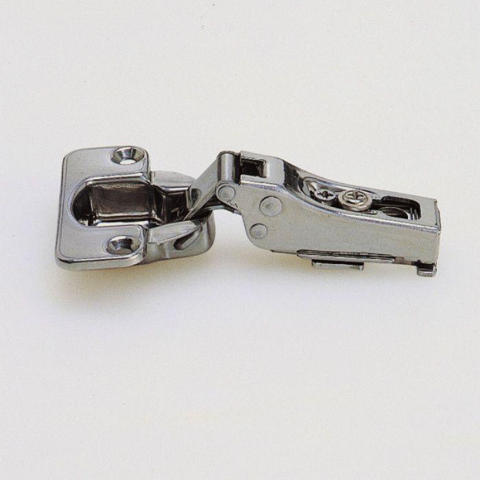 ランプ印 ステンレス鋼製スライド丁番 100 100°開き 14mmかぶせ キャッチ付 100-C46/14 SUS304B