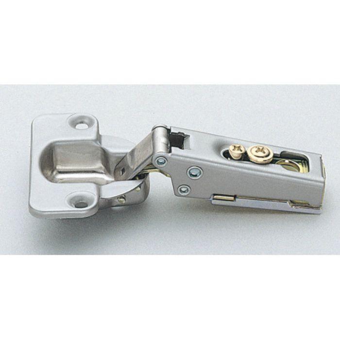 ランプ印 スライド丁番 100 100°開き 19mmかぶせ キャッチ付 100-C36/19SK