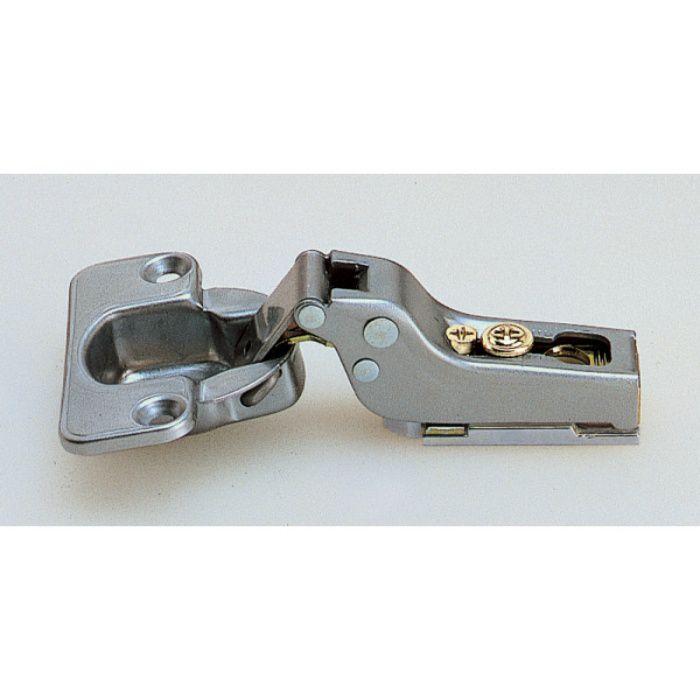 ランプ印 スライド丁番 100 100°開き 9mmかぶせ キャッチ付 100-C36/9SK
