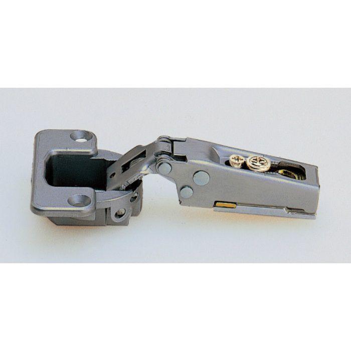 ランプ印 スライド丁番 120 120°開き 19mmかぶせ キャッチ付 120-C34/19
