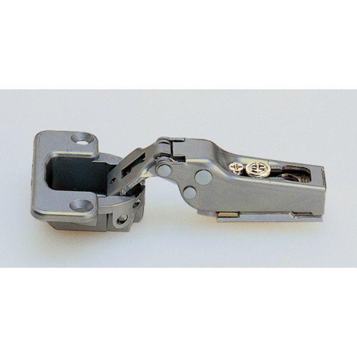 ランプ印 スライド丁番 120 120°開き 14mmかぶせ キャッチ付 120-C34/14
