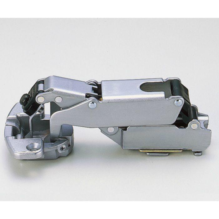 ランプ印 スライド丁番 170 170°開き 9mmかぶせ キャッチ付 170-C34/9