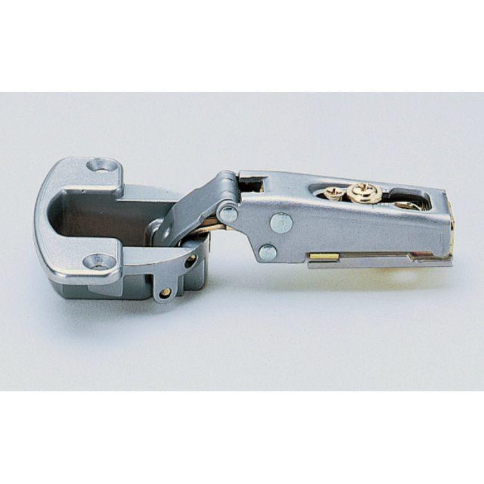 ランプ印 スライド丁番 厚扉用 H90 90°開き 28mmかぶせ キャッチ付 H90-C34/28