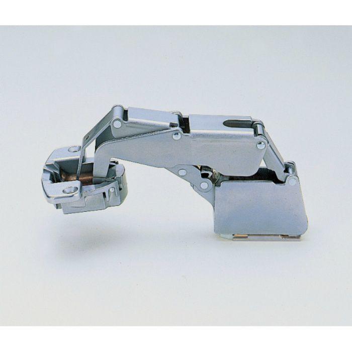 ランプ印 スライド丁番 厚扉用 H160 160°開き インセット キャッチなし H160-34/0