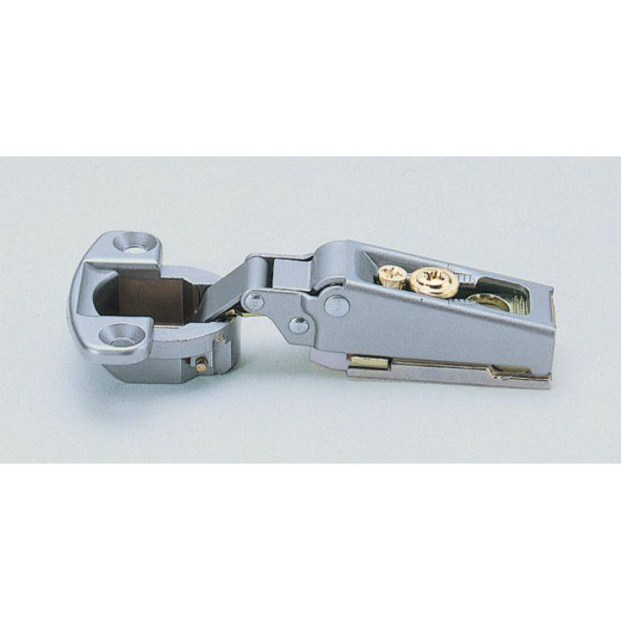 ランプ印 スライド丁番 軽量扉用 M100 96°開き 14mmかぶせ キャッチ付 M100-C34/14