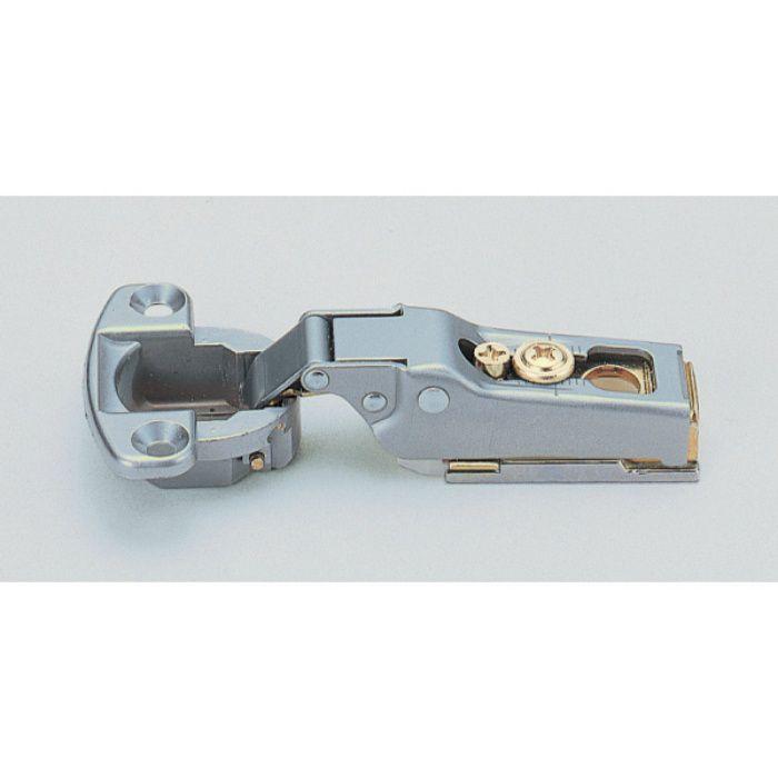 ランプ印 スライド丁番 軽量扉用 M100 96°開き 9mmかぶせ キャッチ付 M100-C34/9