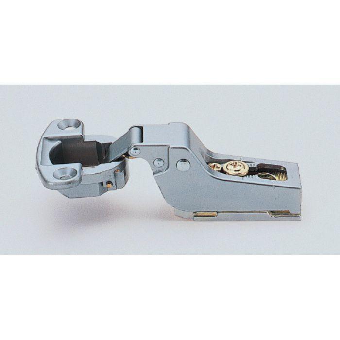 ランプ印 スライド丁番 軽量扉用 M100 90°開き インセット キャッチ付 M100-C34/0
