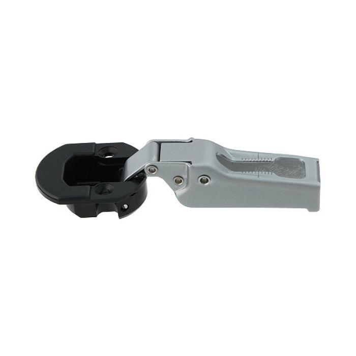 ランプ印 スライド丁番 ガラス扉用 GM100 96°開き 9mmかぶせ キャッチ付 GM100-C32/9