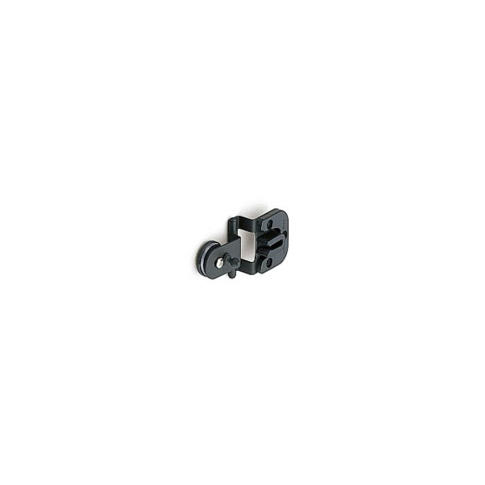 ランプ印 キャッチ付ガラス丁番 GHC34-8型 かぶせ扉用 GHC34-8B