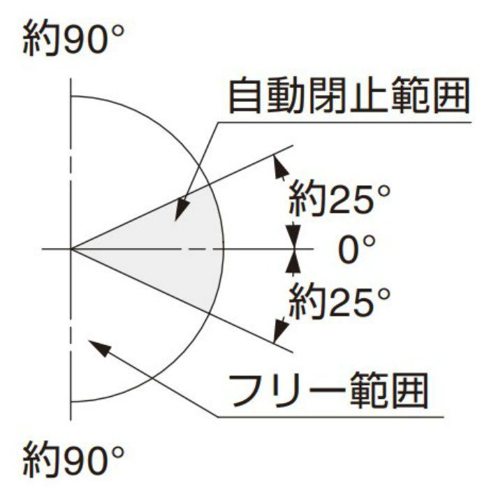 BESTKO ステンレス鋼製ガラスドア用自由丁番 BK926-90型 ガラス取付タイプ BK926-90SM