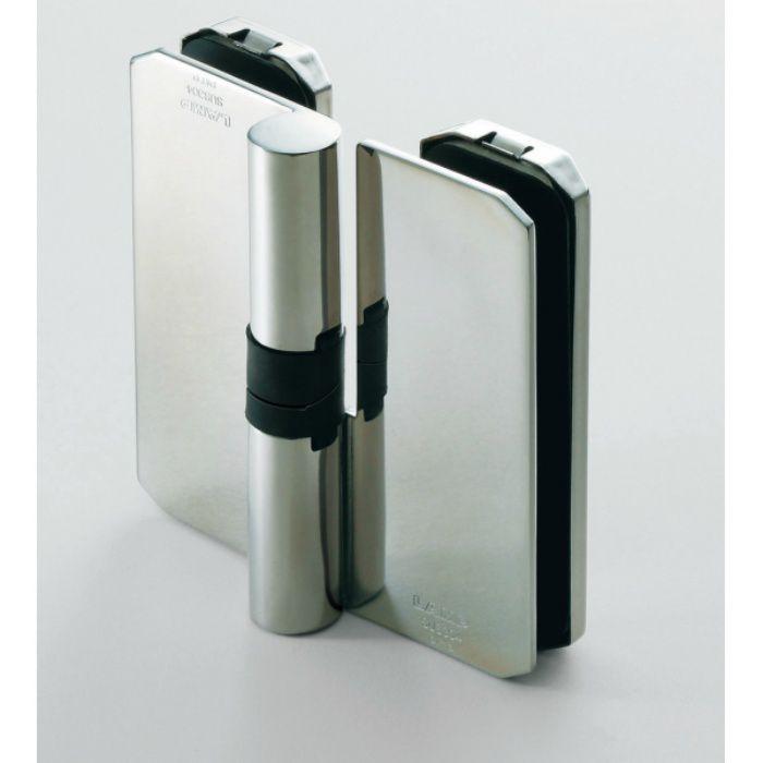 ランプ印 ステンレス鋼製ガラス吊元グラビティー丁番 XL-GH05F-120型 2ヶ XL-GH05F-120R