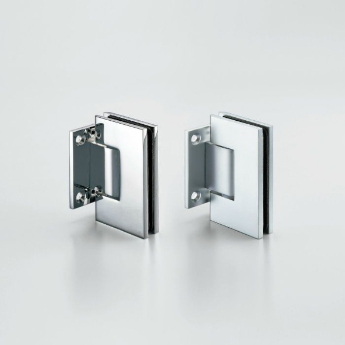 ガラスドア用自由丁番 789B型 壁取付タイプ 789B-10SCR