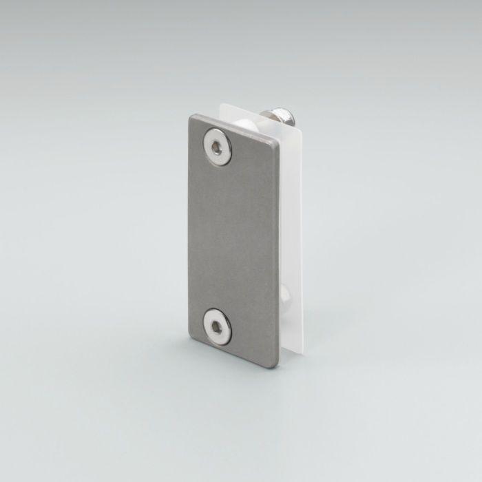 MANFREDFRANK ガラス側板取付プレート F03-10型 MFH-100型 ガラス扉用 F03-102A