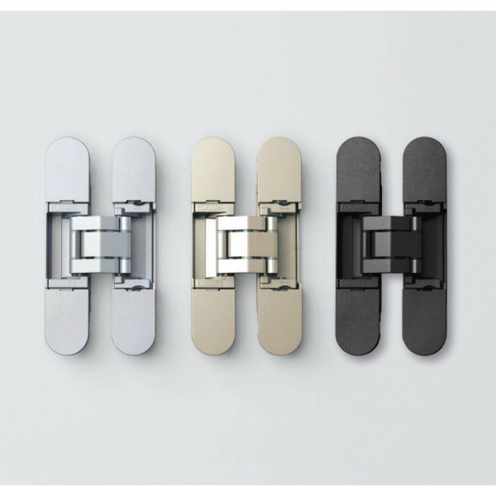 ランプ印 三次元調整機能付隠し丁番 HES3D-90型 ブラック HES3D-90BL