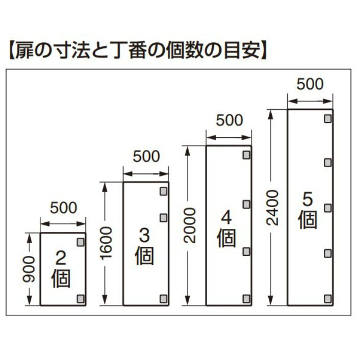面付丁番 2000-150型 150°開き 2000-150-N