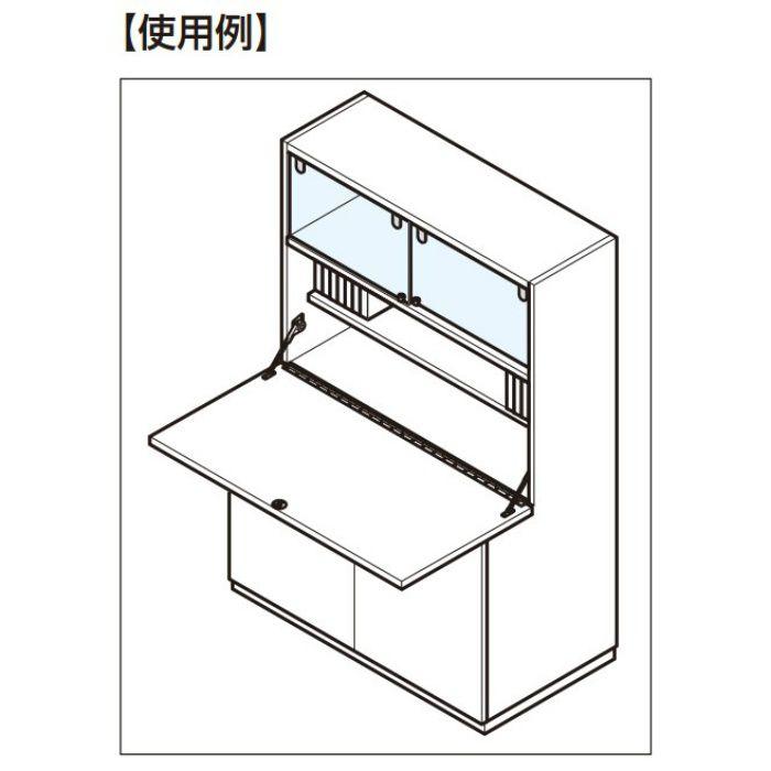 ステンレス鋼製 2枚合長丁番 LS型 LS-450