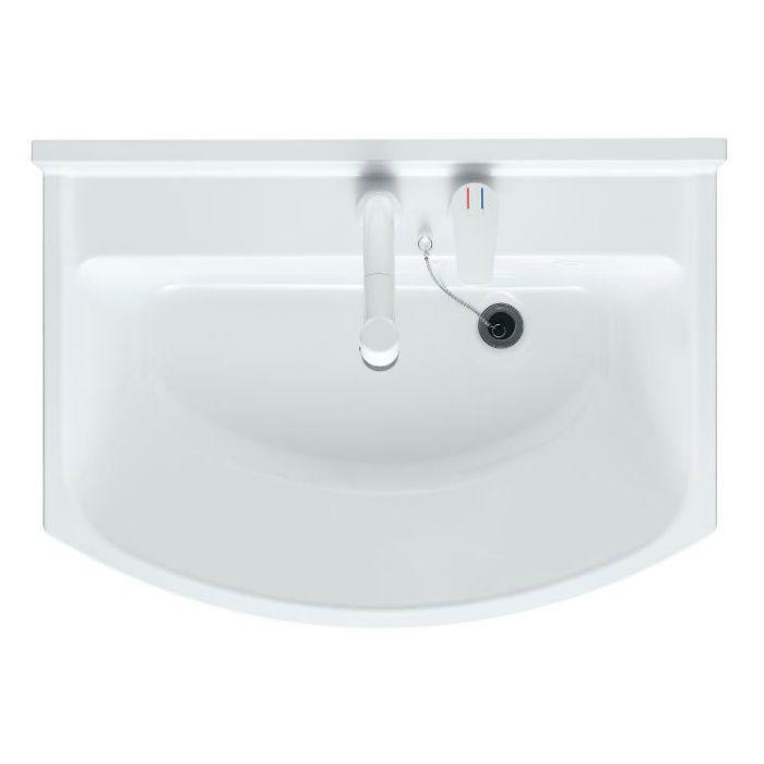 LKAL750AUCJ3KAD1 洗面化粧台セット アルバ750 三面鏡 ダークブラウン 寒冷地仕様