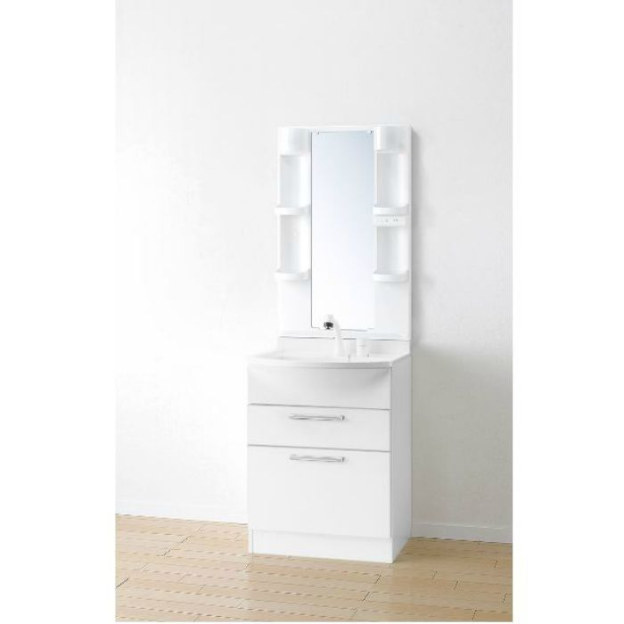 LKAL600AUNJ5SBHW1 洗面化粧台セット アルバ600 ホワイト 一般地仕様