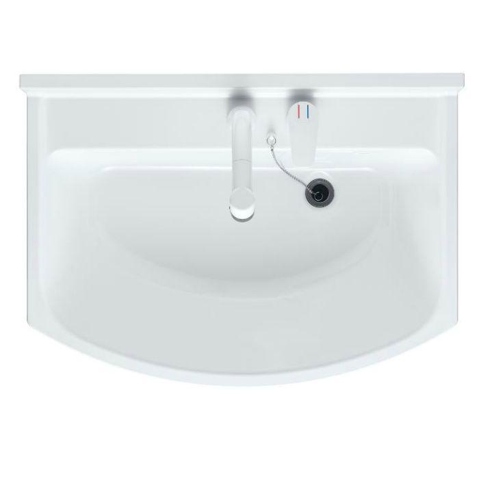 LKAL600AUNJ5SBLHD1 洗面化粧台セット アルバ600 ダークブラウン 一般地仕様