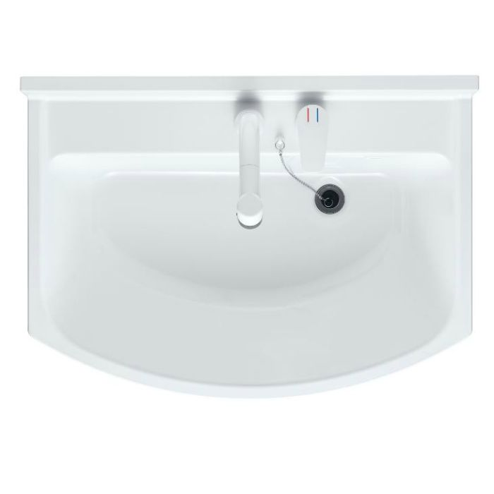 LKAL600AUCJ5SBHW1 洗面化粧台セット アルバ600 ホワイト 寒冷地仕様