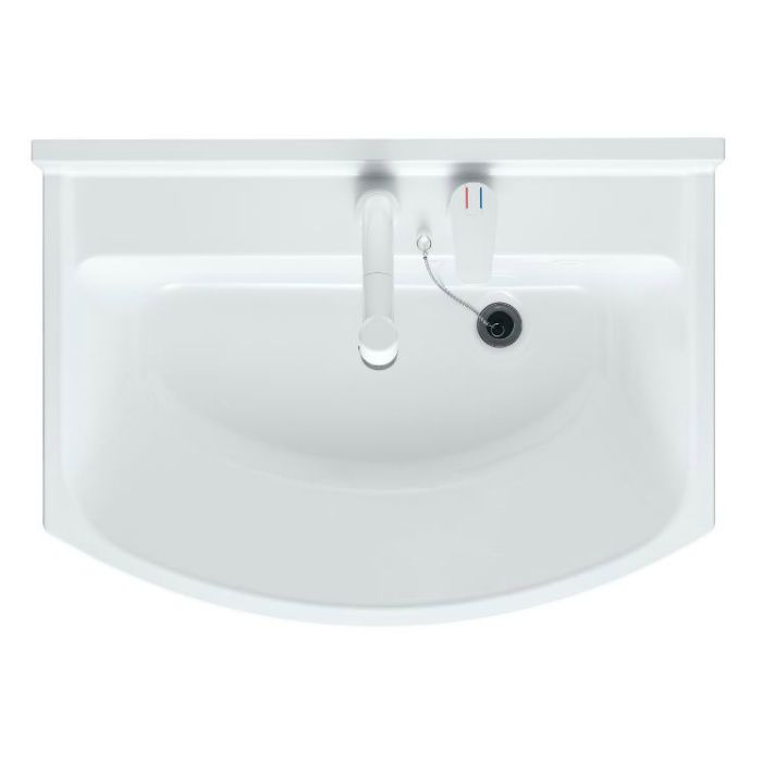 LKAL750AUNJ5SBHW1 洗面化粧台セット アルバ750 ホワイト 一般地仕様